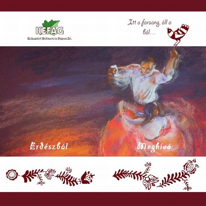 Erdészbál meghívó 2012